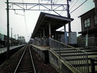 北鉄馬替駅(石川線)