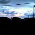 写真: 空が綺麗 しかし寒い