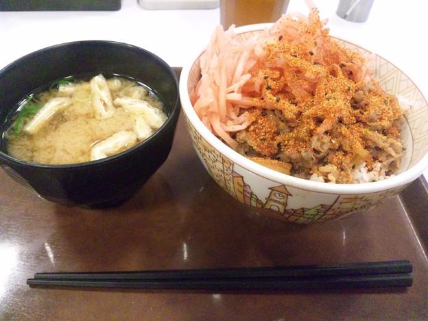 すき家@幡ヶ谷駅前店v(・∀・)▽