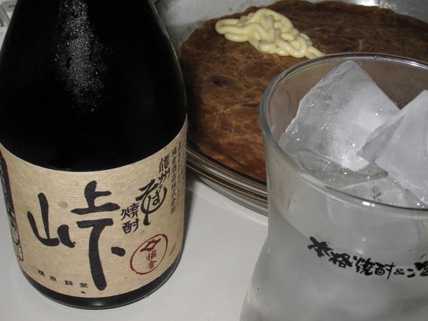 橘蔵酒造 信州そば焼酎 峠(・∀・)□