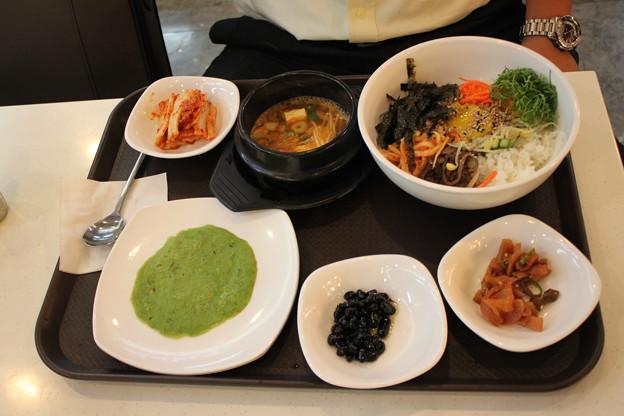 韓国で最後の食事