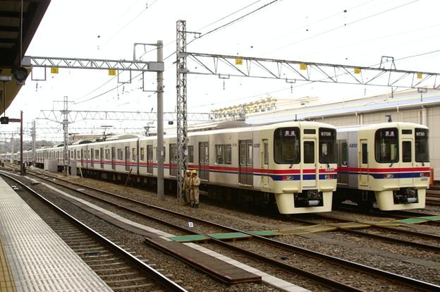9000系0番代最終増備車と30番代最終増備車の共演