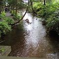 Photos: 遠野 カッパ淵の澄んだ小川