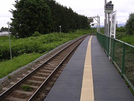 東風連駅ホーム2