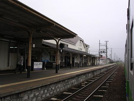 伊達紋別駅ホーム1