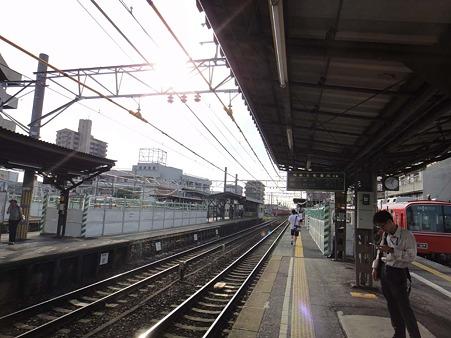 新安城駅構内全景