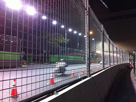 シンガポールグランプリ準備中
