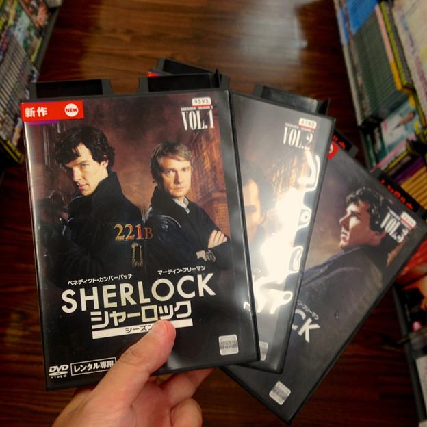 SHERLOCK シーズン3、DVDレンタル開始! - 2