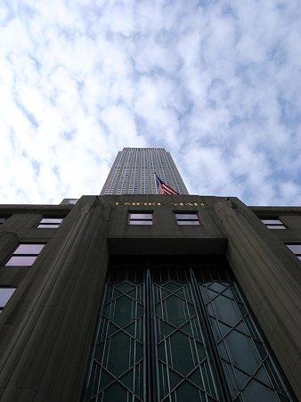 27日 NY-Manhattan the Empire State Building