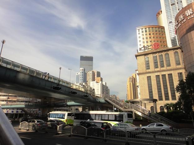 江蘇路&歩道橋