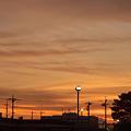 写真: 夕焼け小焼け