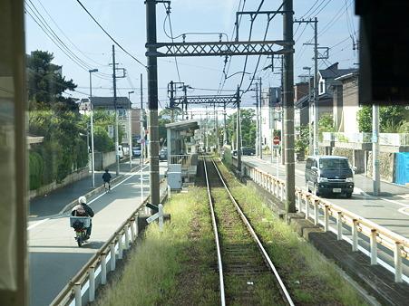 江ノ電車窓(藤沢駅→石上駅)3