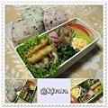 ◆11.20 彩り混ぜ込みご飯のお弁当(長女)♪