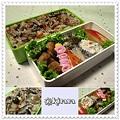 ◆11.22 きのこご飯のお弁当(長男)♪