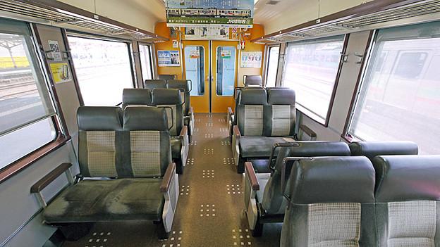 JR北海道 721系電車 車内