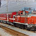 DE 10 1099 甲種貨物列車