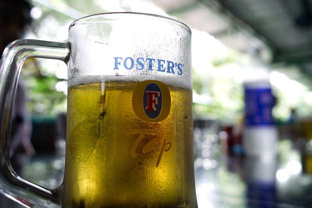 ビールはインドでもうまい @インド マイソール