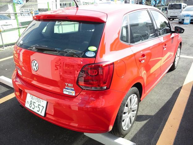 VW ポロ 1.2TSI リア @カーシェア