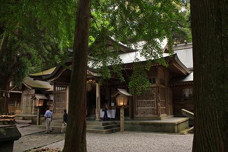 高千穂神社・拝殿6