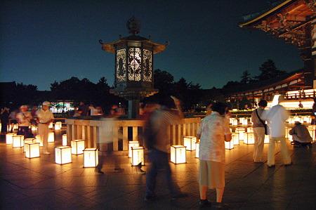 2010年08月15日東大寺万燈会