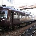 長野電鉄 須坂駅 2000系 マルーン色
