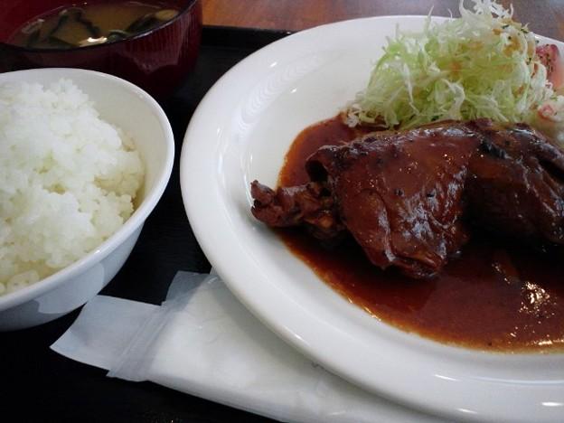 富山の鶏やわらか煮定食