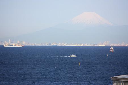 2010/05/13 今朝の富士山 @千葉市美浜区