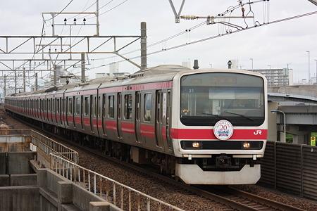 2010/06/27(日) 京葉線 209系500番台[舞浜駅にて]