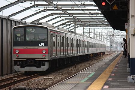 2010/06/27(日) 京葉線 205系[量産先行車・2段窓] [葛西臨海公園にて]