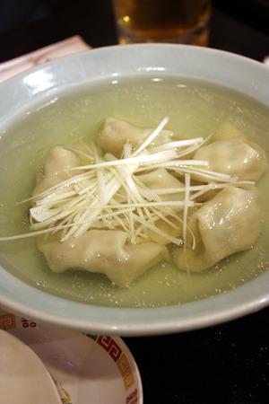 西千葉「中華料理 和食 ふさ元」水餃子 500円