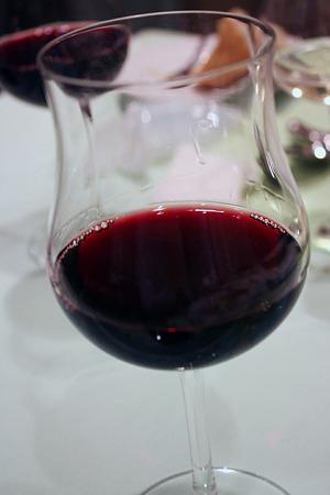20110324_ビストロ ぺるしぃ 赤ワイン