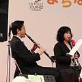 まちなか交流ステージ2011での演奏風景(1)