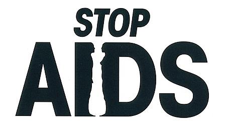 STOP AIDS ロゴタイプ1992