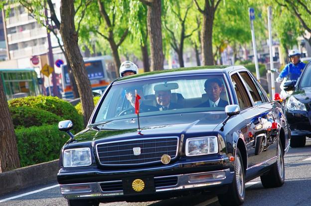写真: 天皇皇后両陛下行幸啓奉迎