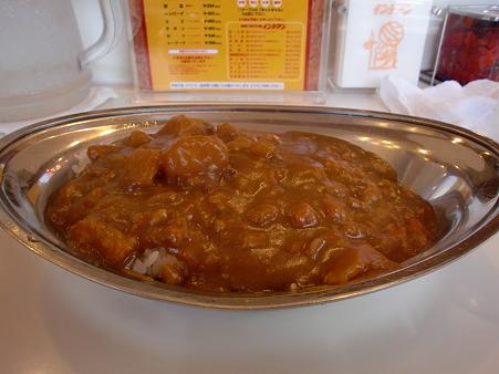 インデアン 野菜カレー