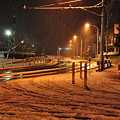 写真: 110214 雪のR134