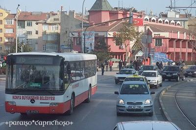 トルコの町中の様子