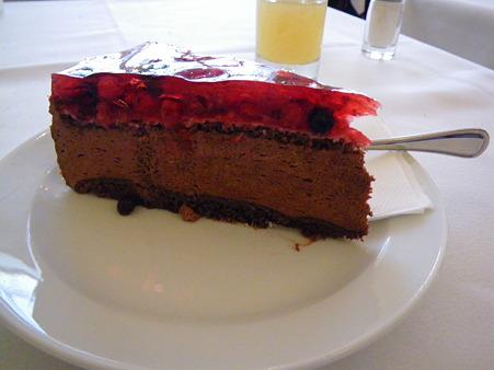 森のケーキ