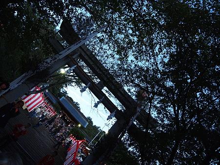 諏訪神社の朝
