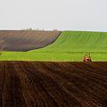空に向かって耕す畑~~
