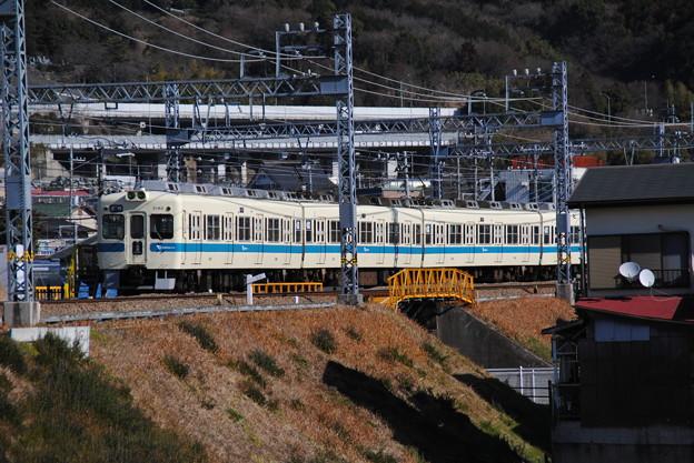 小田急5000形 新松田駅1