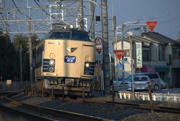 583系 仙台車 ゲレンデ蔵王