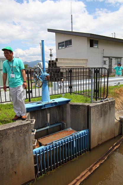 第二揚水機場取水口