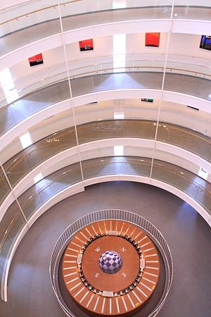 フーコーの振り子 山形県産業科学館