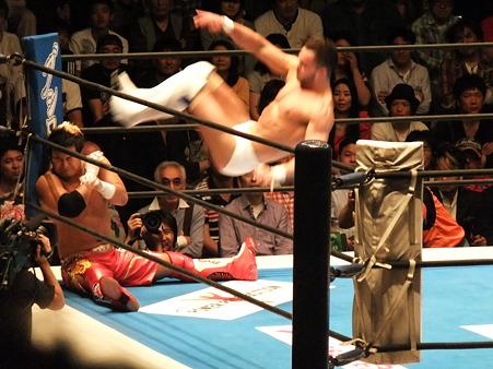 新日本プロレス BEST OF THE SUPER Jr.XIX Aブロック公式戦 プリンス・デヴィットvsKUSHIDA (6)
