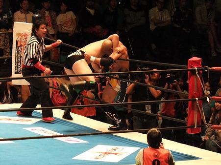 新日本プロレス BEST OF THE SUPER Jr.XIX Bブロック公式戦 田口隆祐vsロウ・キー (1)