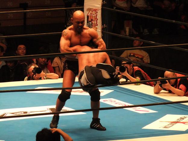 新日本プロレス BEST OF THE SUPER Jr.XIX Bブロック公式戦 佐々木大輔vs邪道 (3)