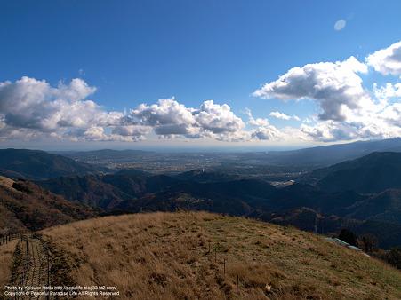 大野山山頂までの近道
