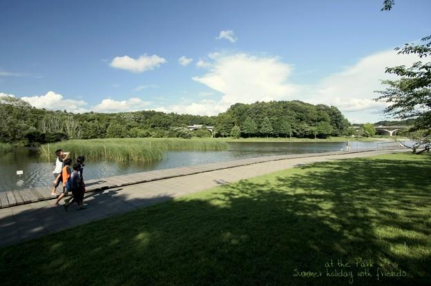 Photos: 夏休みの公園