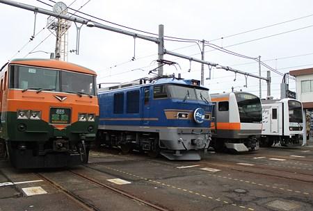 東京総合車両センター「2011夏休みフェア」